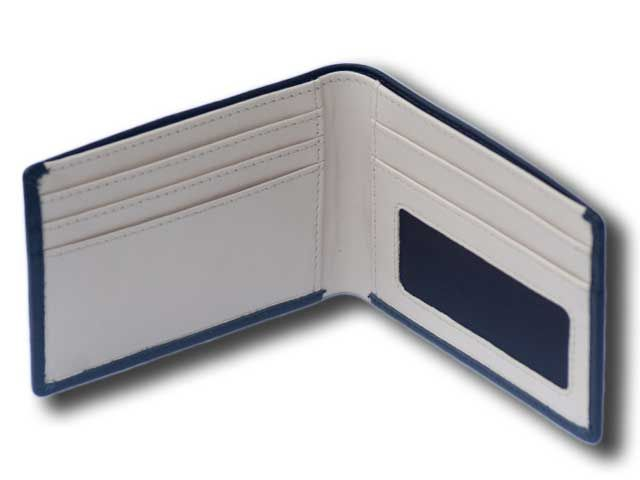 4c4b8cf2754c5 Mens Slim Leather Wallet, Light to carry