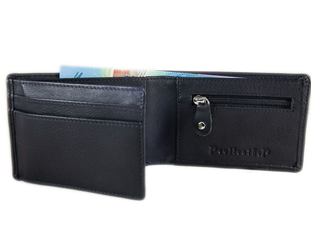 1311cb46645fb9 Handmade Real Leather Wallets & Bags  Slim Mens leather wallet with ...