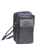 Small Travel Bag | Organiser inside | Cross-body | Holds all | Napa Leather Bag