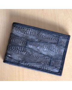 Men's Wallet |  Chicken Leather | Rooster Wallet | Handmade | Slim Bi-fold Wallet | Exotic Leather Wallet