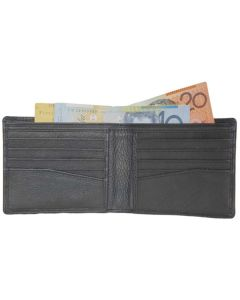 Men's Wallet | Front Pocket Bifold Wallet | RFID Blocking | Slim Leather Wallet