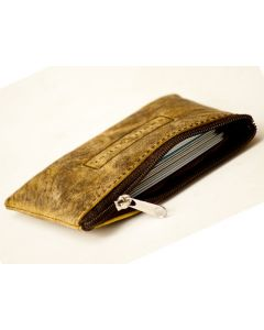 Zip Card case & Coin purse Hunter Leather