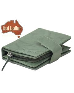 Women's Small Wallets Online | Ladies Leather Wallets | Dual ID | 16 Cards slot wallet | Zip Coin Purse Wallet