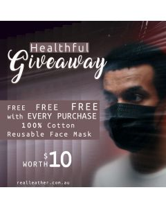 Facemask | 100% Cotton | Reusable Washable | Multiuse