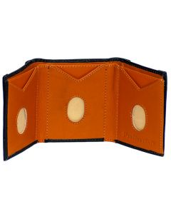 Thumbs Up! Slide Out Real Leather Trifold Wallet for easy access, security and comfort