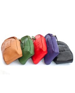 Soft glasses case with Belt Loop in Leather