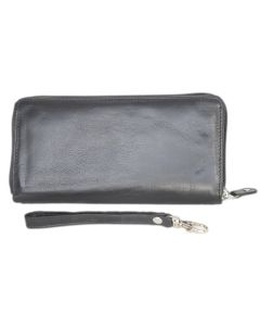 Zip-Around Women's Wallet | Soft Leather Wallet | Slim Wallet | Long Clutch Purse | Ladies Wallet | Women's Wallets Leather | RFID Blocking | Wristlet