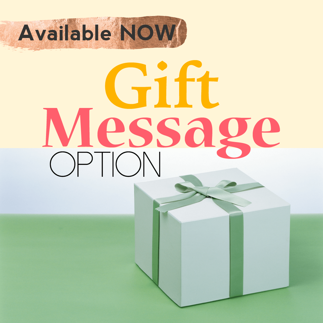gift message option add on
