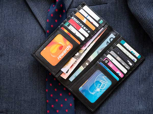 Men's Suit Coat Wallet